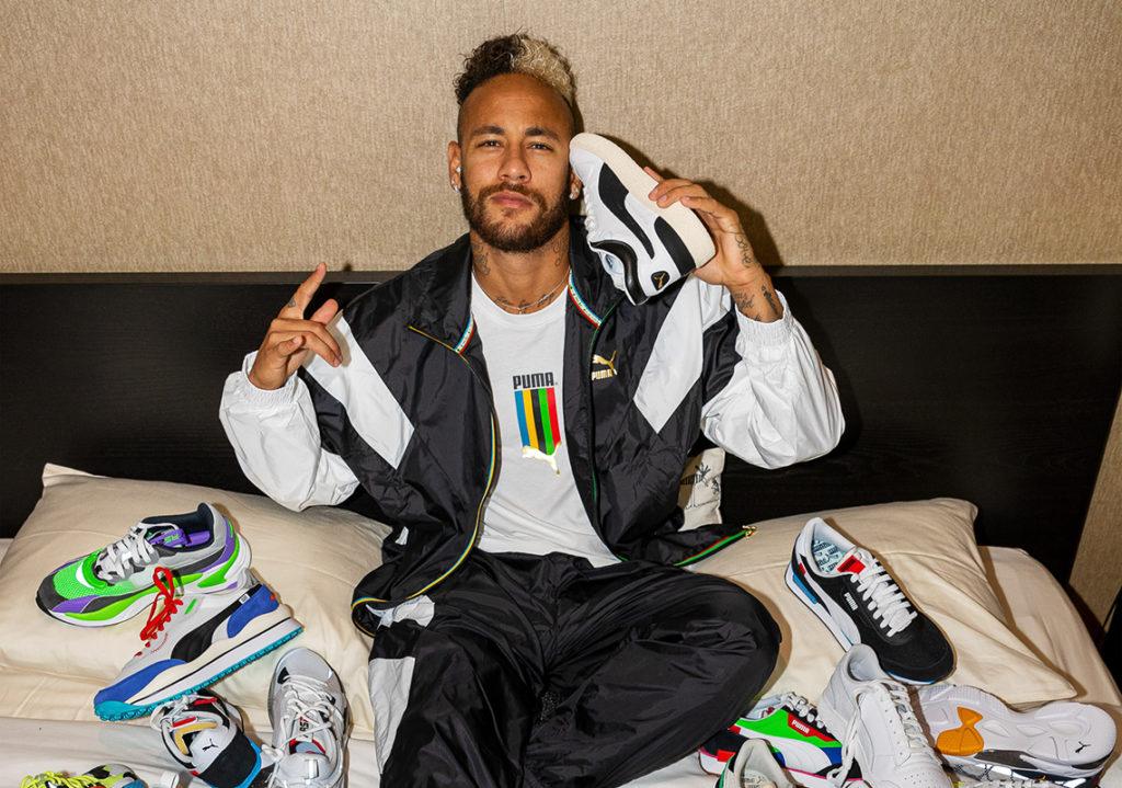 Neymar signe un contrat astronomique avec Puma et dépasse Messi
