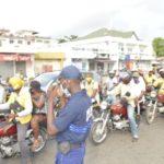 Interdiction des ventes à la sauvette et mendicité dans les feux tricolores de Cotonou : La nouvelle équipe dirigeante de la Police municipale sensibilise