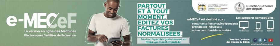 E-MECEF Impôts Bénin